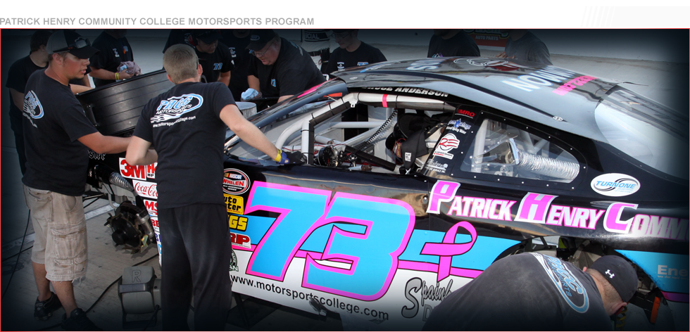 The Racing Collge of Virginia - PHCC Motorsports