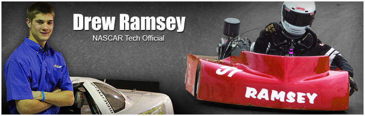 PHCC Motorsports Alum - Drew Ramsey, NASCAR Tech Official
